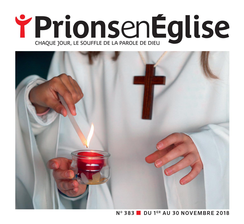 Prions en Eglise - Livret Semaine sainte 2018 offert